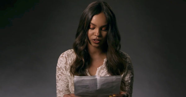Anonymous Content » 13 Reasons Why Cast Reads Personal Letters
